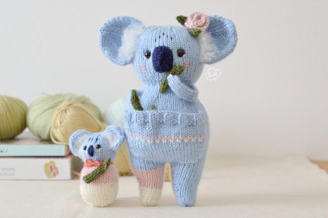 Mãe Koala e bebe 10
